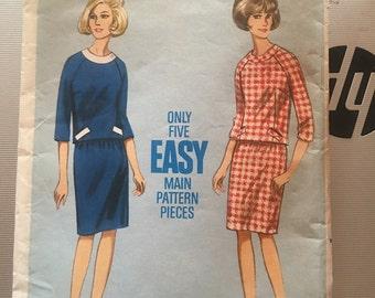 Vintage Butterick 4154 Seperate Pattern-Size 36 (36-38-38)