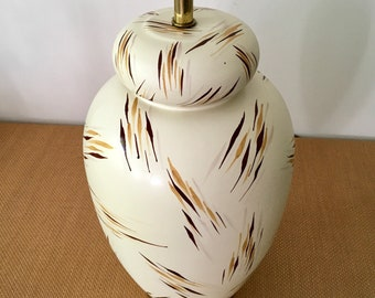 Vintage 1980 Abstract Design Chapman Pottery Table Lamp
