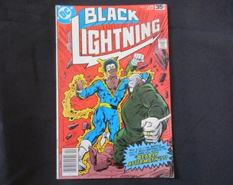 Black Lightning #8 D.C. Comics 1978