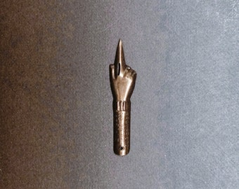 Brause #29 Index Finger Calligraphy Nib, Copperplate, Spencerian, fit Oblique Pen Holders
