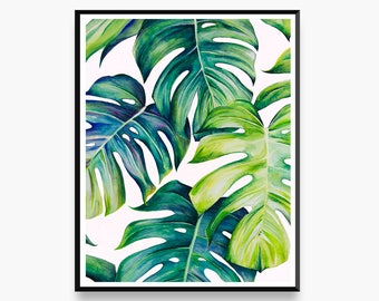 Delectable Deliciosa - Limited Edition Botanical Art Print for the Home Interior