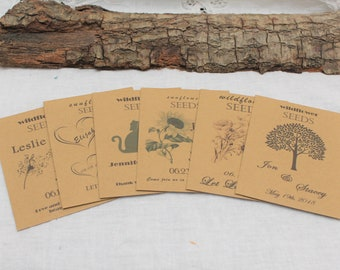 Envelope Favors, Seed Packets, Seed Favors, Wedding Seed Favors, Kraft Enevelopes, Wedding Ideas, Packet Favors, Wedding Favors Guest