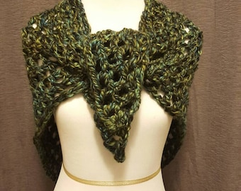 Women's Open Weave Shawl