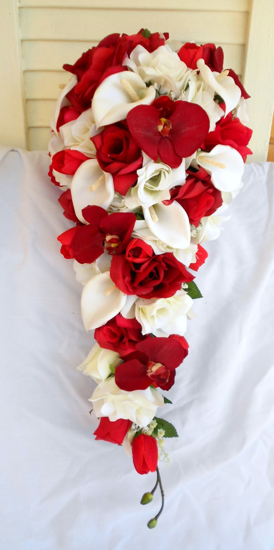 Ramos de novia rojos Antes de la boda Foro Bodasnet