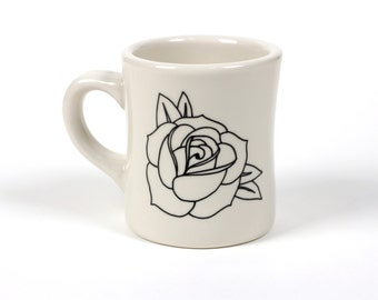Blooming Rose - Cool Designs - Interesting - Gift for Him - Gift for Her - Birthday - Quirky - Retro