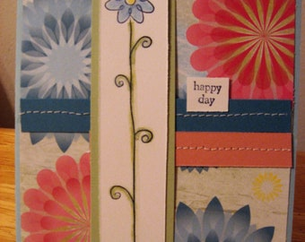 Happy Day Flower Card