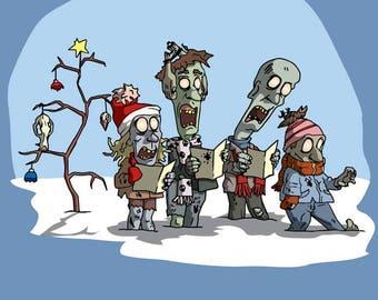 Zombie Carolers Sweatshirt