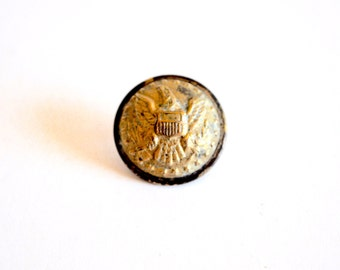1860s Federal Officer Staff Button (Undug)