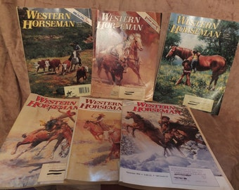 1994 Western Horseman Magazines Lot Of 6 Issues