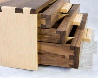 Walnut Dovetailed Box