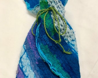 Nuno Felted Pouch