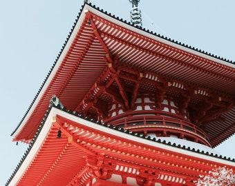 Konpon Daito Pagoda - Mt Koya A4 Exclusive Print