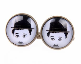 Charlie Chaplin Cufflinks, (1616)