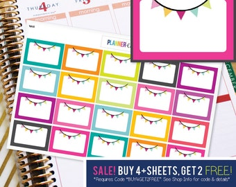 Celebration Birthday Planner Stickers to be used with Erin Condren ECLP, Happy Planner, Recollections (#1015)
