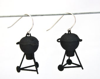 3D PRINTED Grill Earrings