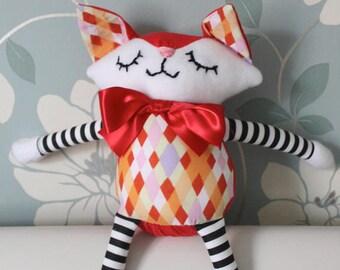 Fox Girl Plush Children's Toy