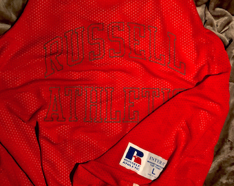 Vintage Russel Athletic Made In USA jersey L