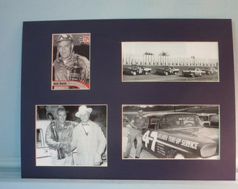 NASCAR Great - Jack Smith who drove in the first NASCAR race ever & his autograph