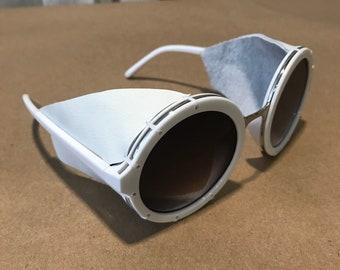 White Glacier Goggles
