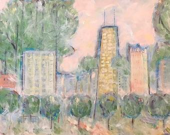 Chicago-Windy City-print