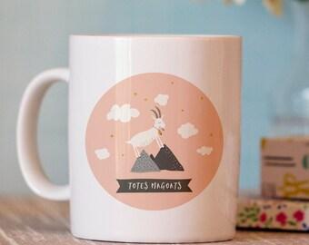 Funny Coffee Mug - Totes Magoats Mug - Unique Mugs - goat mug