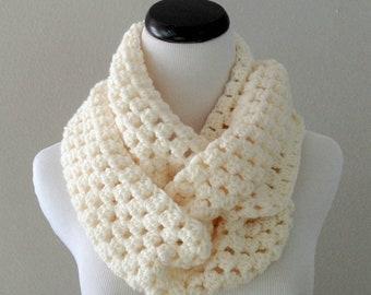 SPRING SALE CROCHET Pattern - Chunky Crochet Infinity Scarf Pattern, Infinity Cowl Pattern, Beginner Crochet Pattern, Chunky Cowl Pattern