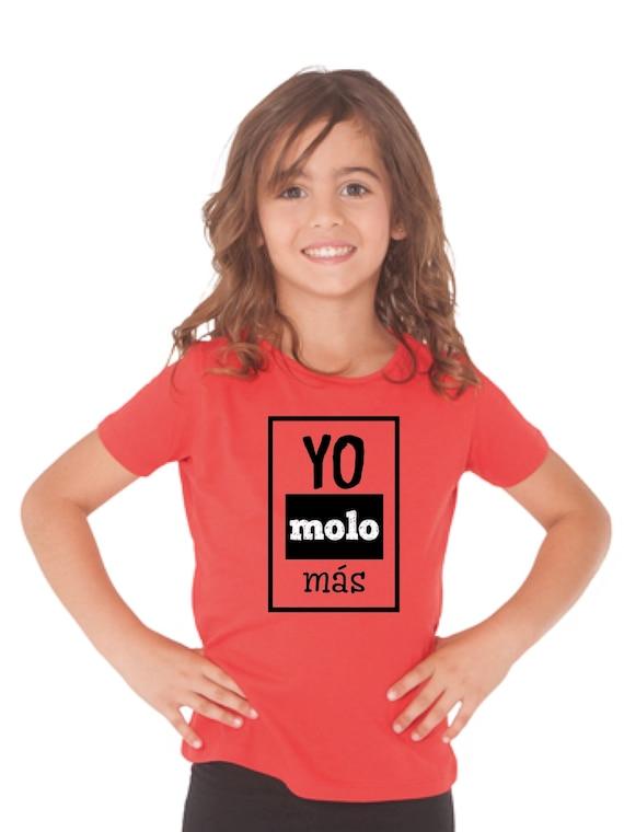 Girl t-shirt/body YO MOLO MAS