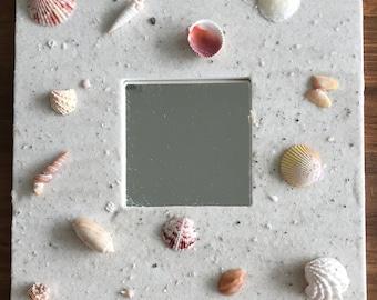 Beach Sand Mirror