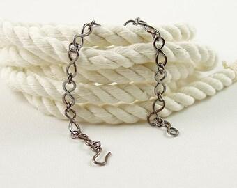 Infinity Link Copper Bracelet, Patina Jewellery, Artisan Bracelet for Everyday Wear