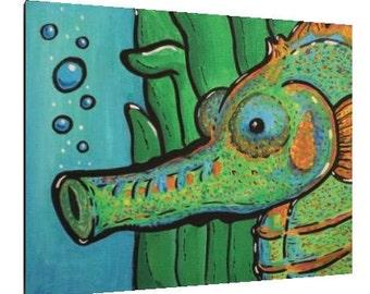Seahorse - Canvas Reproduction