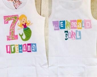 You Design Birthday Girl Shirt