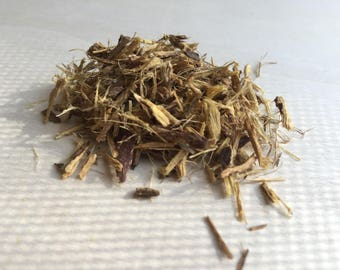 Licorice Root, Glycyrrhiza glabra (Chips) (liquorice) ~ Sacred Herbs and Spices from Schmerbals Herbals