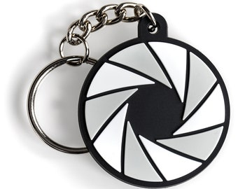Aperture Photography Keychain
