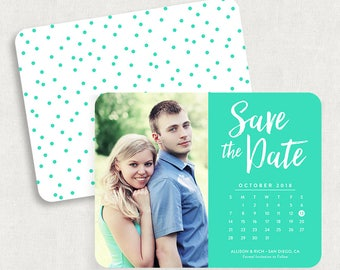 Calendar Save the Dates, Save the Dates with Calendar, Save the Date Cards, DIY Save the Dates, DIY Calendar Save the Dates, Printable, PDF