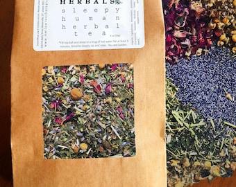 sleepy human herbal tea blend