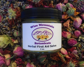 Herbal First Aid Salve- 2 oz. jar
