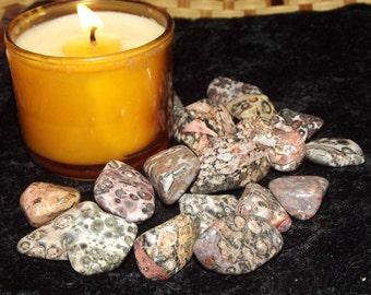 Leopardskin Jasper Gemstone - Shamanism, Animal Totems, Spiritual Journeys, Protection
