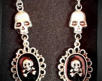 Victorian goth earrings