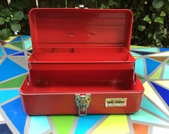 Red Union Tackle Box, Tool Box