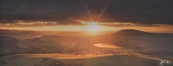 Binsey, Over Water & Bassenthwaite Lake [Photographic Print]