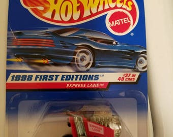 1998 Hot Wheels First Editions Car #37 Express Lane