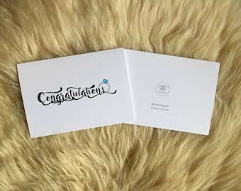 Congratulations Engagement or Wedding Put a Ring on It Card