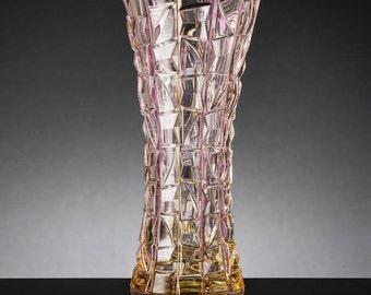 crystal vase Patriot Chiarte