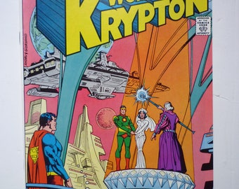 DC Superman comic 1979 first #1 issue World of Krypton comic book / Superb condition