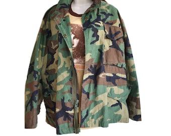 M65 Jacket Camo Jacket Army Jacket Military Jacket Field Jacket Camo Coat Army M65 Jacket