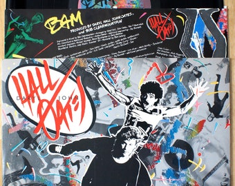 Daryl Hall and John Oates - Big Bam Boom (1984) Vinyl LP  Out of Touch & Oats