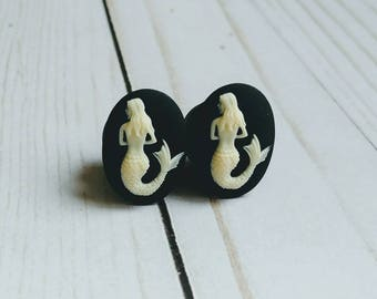 Mermaid Plugs for Gauged Ears Sizes 6G, 4G, 2G, 0G, 00G, 1/2, 9/16, 5/8 Inch, 15mm, 14mm, 12mm, 10mm, 8mm, 6mm, 5mm,4mm, One Pair(1)