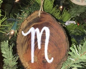 Wooden ornaments