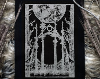 WOODLAND CATHEDRAL // Backpatch - SILVER