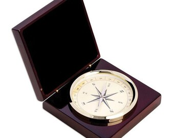 Personalized Custom True North Compass and Nautical Compass Gift Engraved Compass Gift Nautical Gift Groomsmen Gift